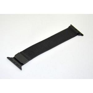 Bracelet Milan Applewatch 42 mm metal noir